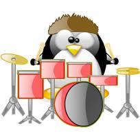 Drummer Tux