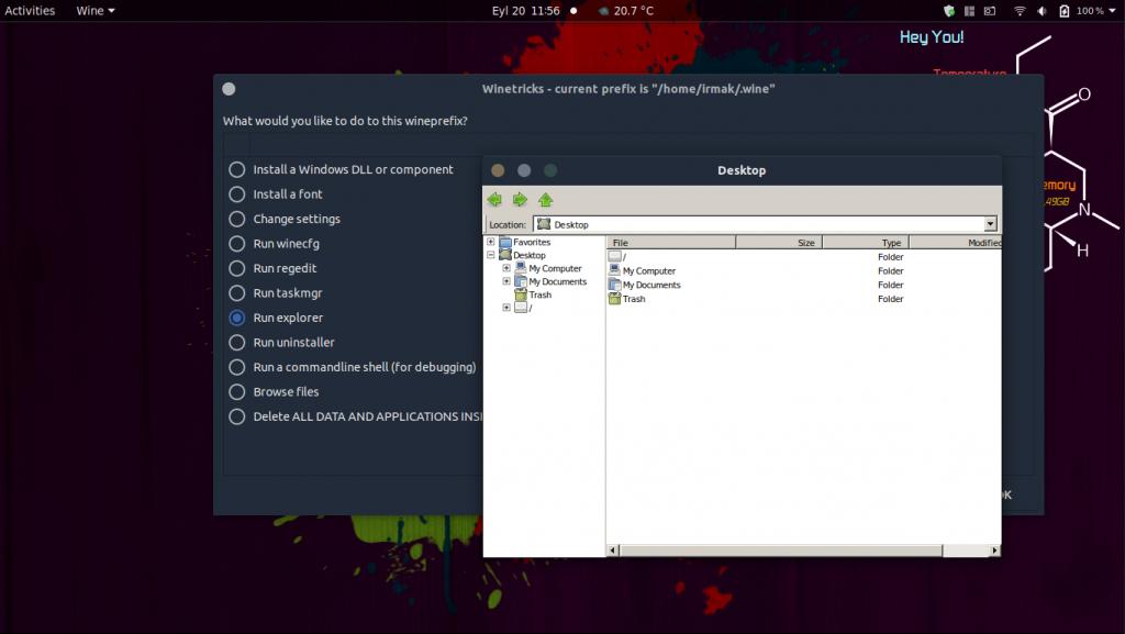 Linux'ta Autocad Kullanmak