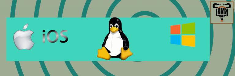 Linux, Windows, IOS, karşılaştırma