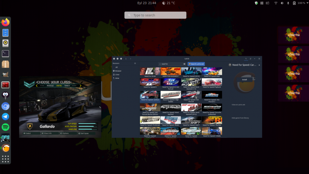 Linux games nfs